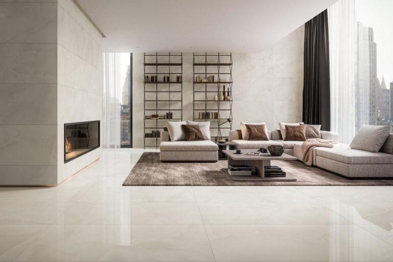 Porcelain Tile Flooring for an Elegant Home Design